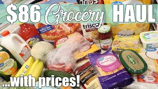 $86 Walmart Grocery Delivery Haul | June 2020