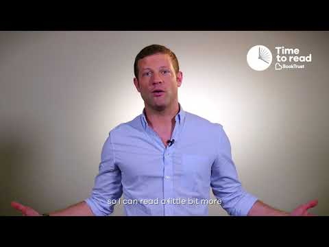 Dermot O'Leary on what he's giving up for the National Time to Read Challenge
