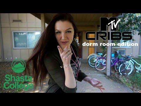 (MTV) CRIBS: DORM ROOM EDITION @ SHASTA COLLEGE | ALLY HARDESTY