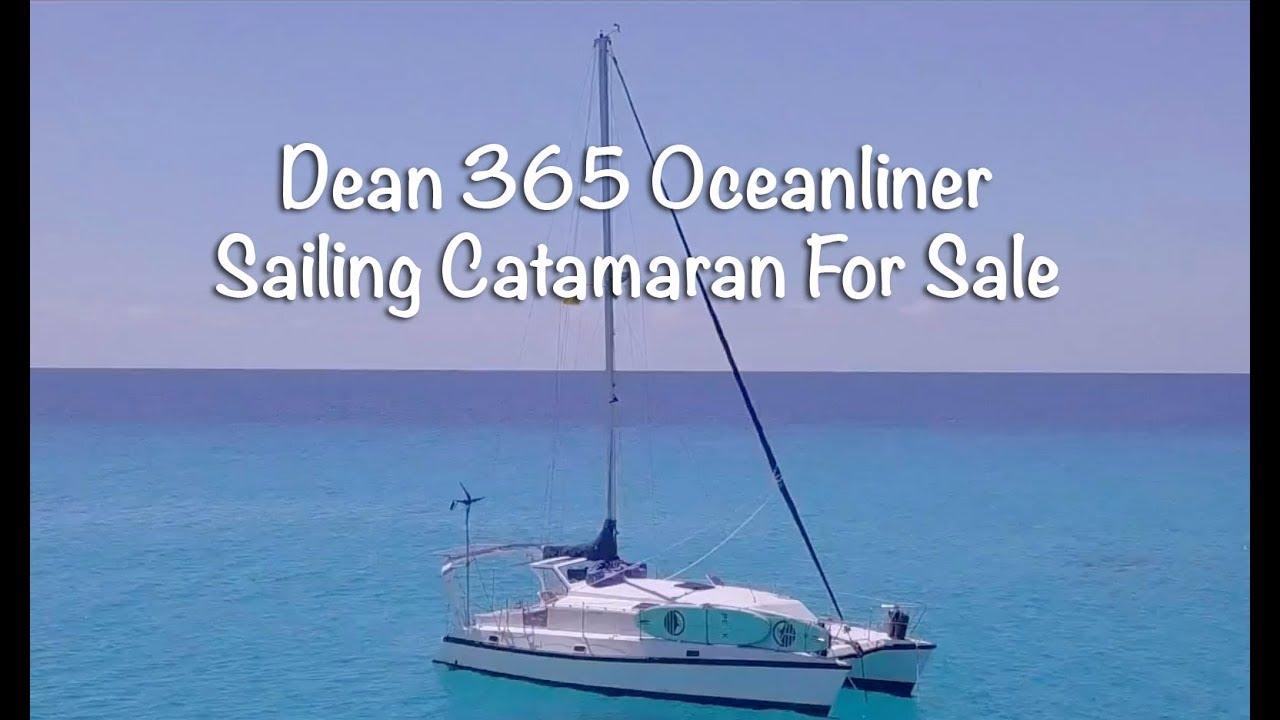 SellingByFaith - Dean 365 Oceanliner Sailing Catamaran For Sale