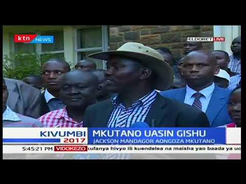 Uasin Gishu incumbent Governor Jackson Mandago