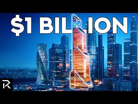 Inside Russia's $1 Billion Mercury City Tower