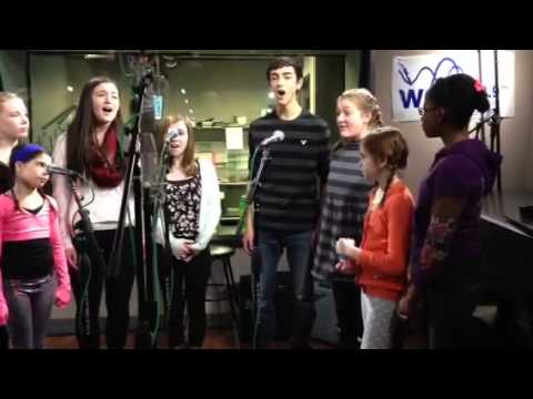Boston Children's Theatre's Pinkalicious cast
