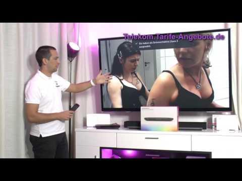 Options-Menü Bild- und Ton vom Telekom EntertainTV Media Receiver 400