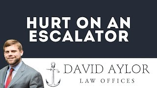 Hurt On An Escalator | Personal Injury Attorney in Charleston SC