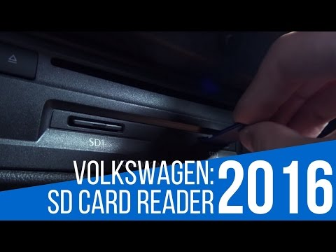 2016 Volkswagen: Car Technology - SD Card Reader