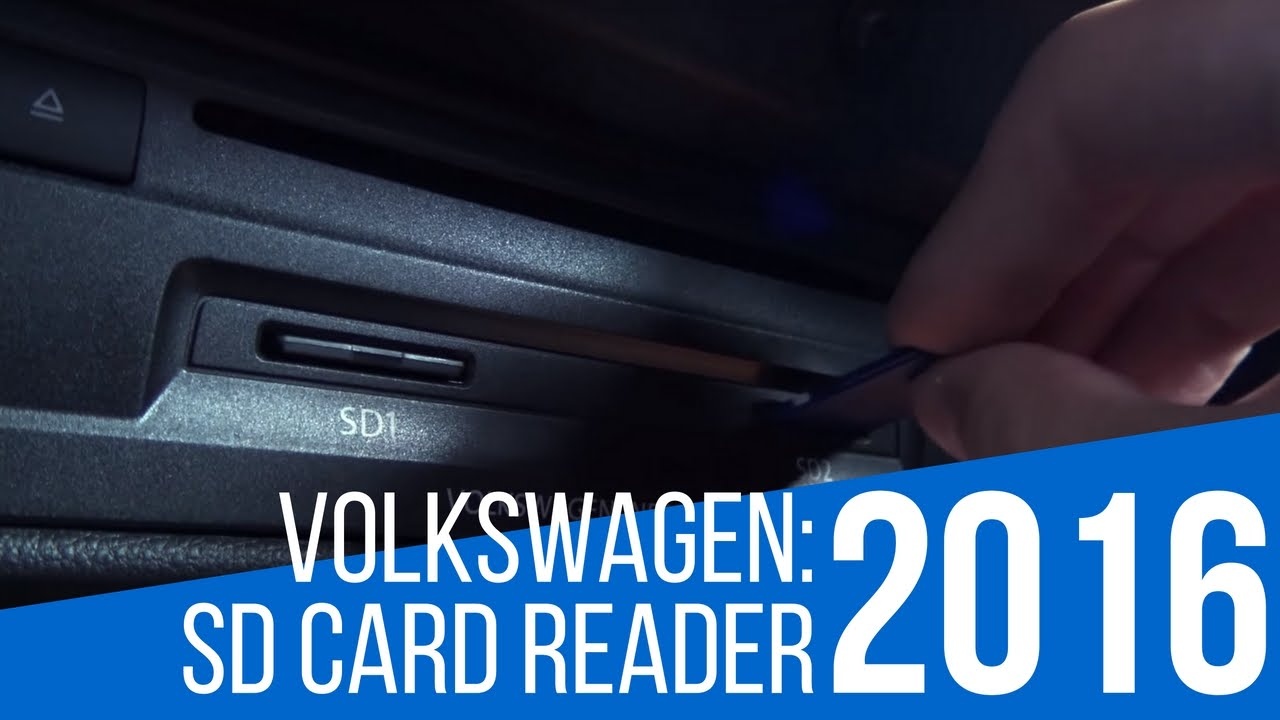 2016 Volkswagen: Car Technology - SD Card Reader - YouTube