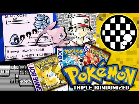 Pokemon Red/Blue/Yellow Randomized With One Controller