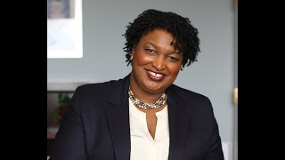 """Stacey abrams, new york times bestselling author of """"our time is now"""" and """"lead from the outside,"""" entrepreneur a political leader, joined dillard co..."""