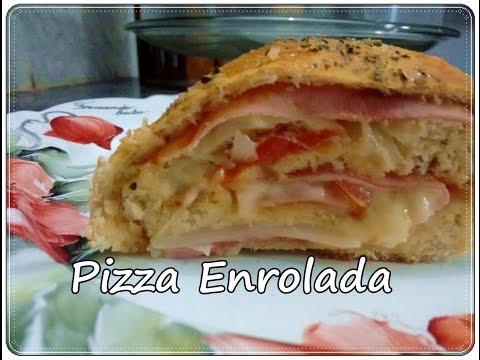 Pizza Enrolada Super Facil (por Fernando Couto)