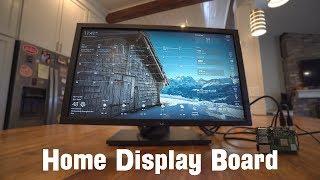 Intro to Home Display Boards - Dakboard and MagicMirror