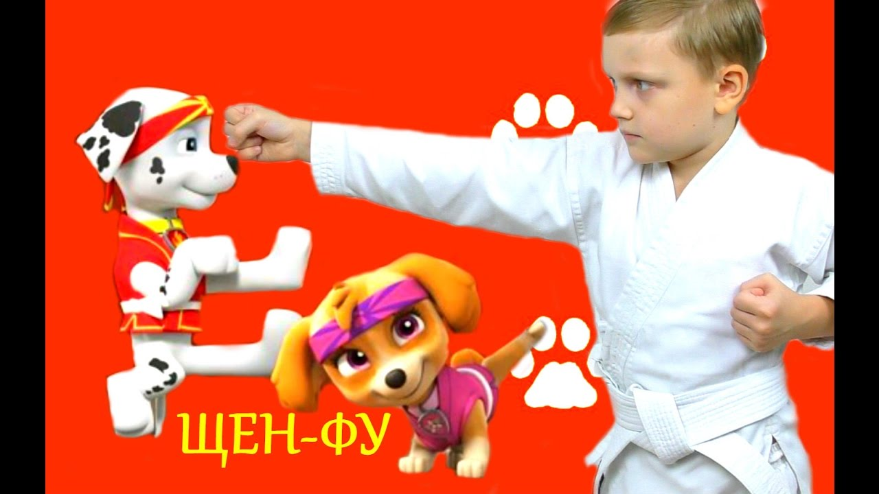 ЩЕНЯЧИЙ ПАТРУЛЬ новые серии ЩЕН ФУ PUP FU Paw Patrol game Video for kids Paw Patrol