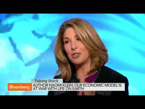 Naomi Klein: Economic Model Is at War With Life on Earth