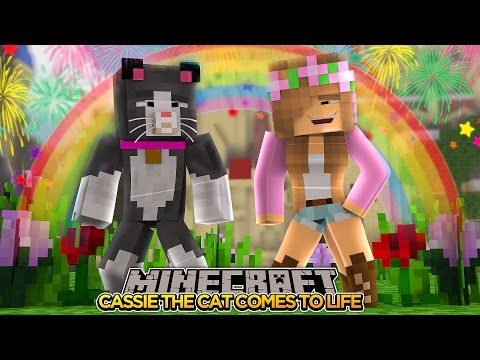 Minecraft - Little Kelly Adventures : CASSIE COMES TO LIFE!
