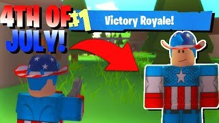 ROBLOX FORTNITE 4TH OF JULY UPDATE!! (Island Royale Update)