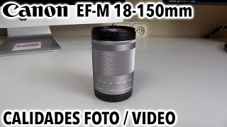 Canon EF-M 18-150mm IS STM | Revisión en profundidad