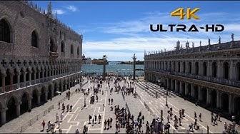 Venedig, Markusplatz ( St.Mark's Square ) 4K Ultra - HD