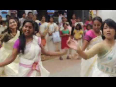 Jimikki Kammal  - Dance Performance by  Indian Institute of Technology  Madras   Onam 2k17