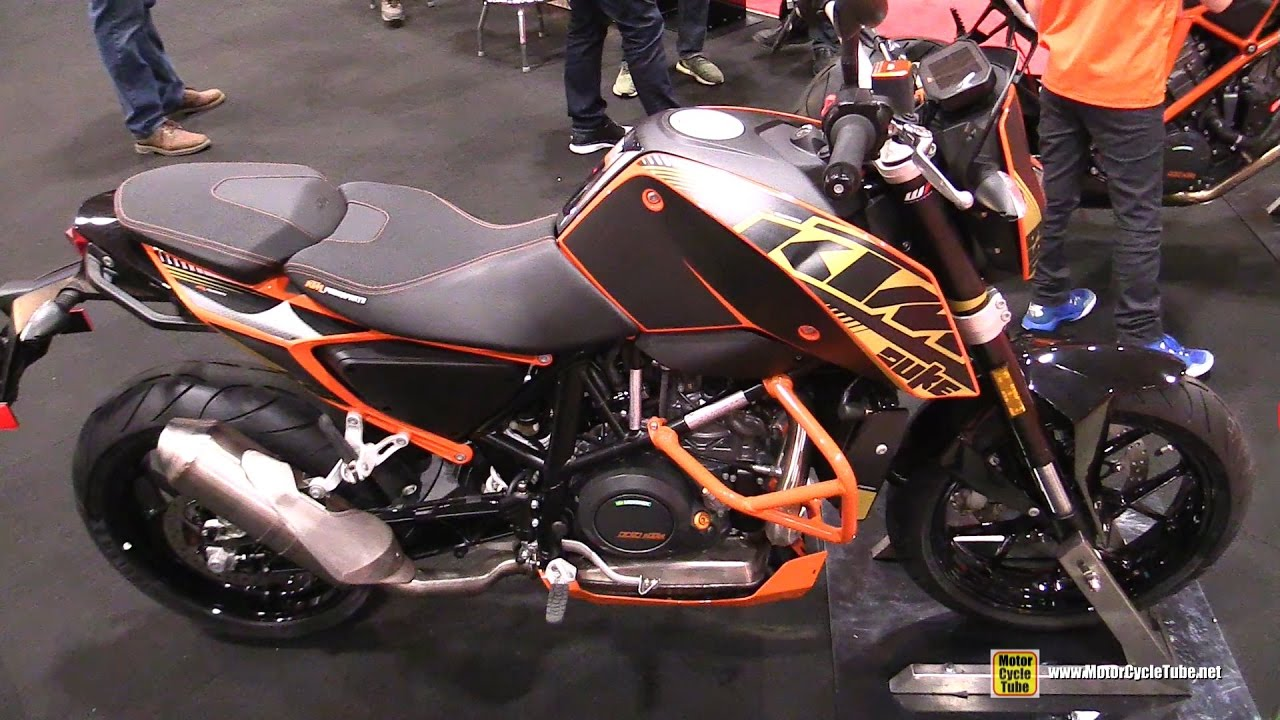 2017 ktm 690 duke - walkaround - 2017 toronto motorcycle show