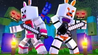 Who Will Survive The Zombie Infection (Minecraft Fnaf Roleplay Adventure)