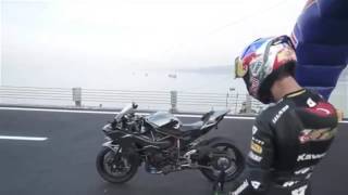 KAWASAKI H2R TOP SPEED RECORD 0 400KM H 26 Second