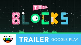 Toca Blocks — New Google Play App — Gameplay Trailer — @TocaBoca