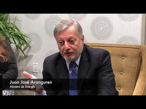 El ministro de Energía, Juan José Aranguren desde Houston (por nuestro enviado especial).