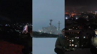 �������� ���� Как выглядит полярная ночь в Мурманске ������