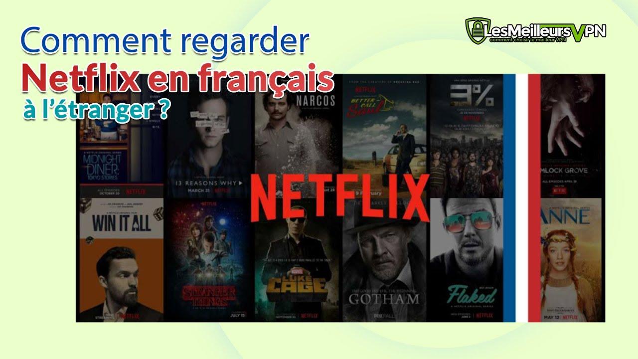 Netflix langue a l etranger