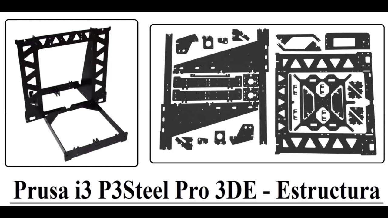 3DEspana kit impresora 3D Prusa i3 P3Steel Pro 1