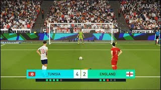 Video TUNISIA vs ENGLAND | Penalty Shootout | PES 2018 Gameplay PC download MP3, 3GP, MP4, WEBM, AVI, FLV Juli 2018