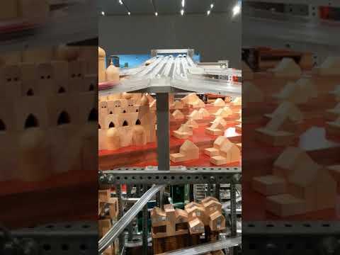 Chris Burdens' Metropolis II at LACMA