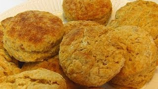 Betty's Sweet Potato Biscuits With Grandson, Carter