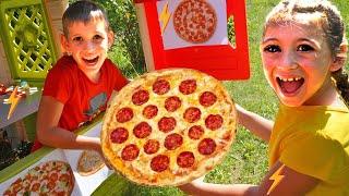 Аня и приключение с пиццей