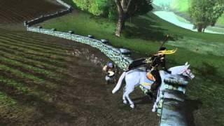 LOTRO - the dancing horse