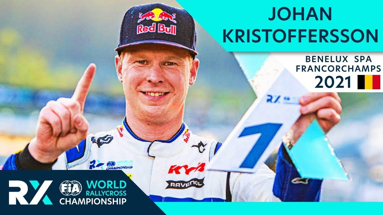 Johan Kristoffersson wins Benelux World RX of Spa Francorchamps 2021 : Belgium Rallycross