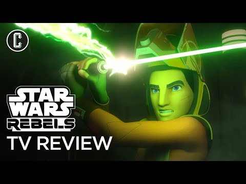 """Star Wars Rebels Season 4 Episodes 3 & 4 """"In the Name of the Rebellion Parts 1 & 2"""" Review"""