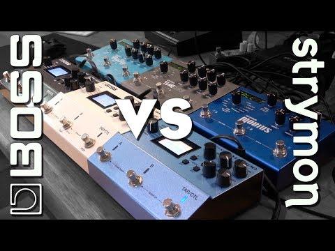 Boss vs Strymon - Shootout of the MEGA pedals!