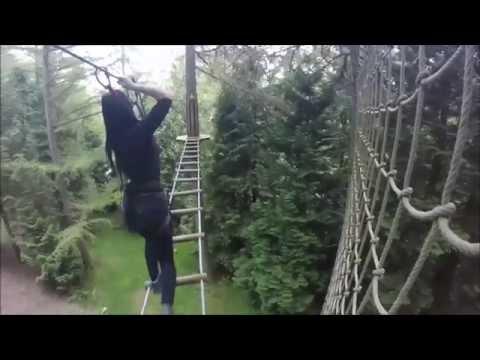 GoApe Whinlatter Lake District
