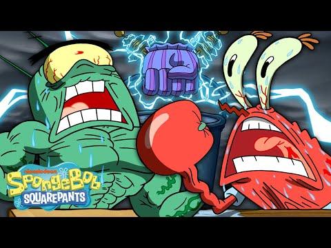 The Chum Bucket Strikes Back! 🖐 | Handemonium | SpongeBob