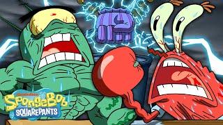 The Chum Bucket Strikes Back!  | Handemonium | SpongeBob