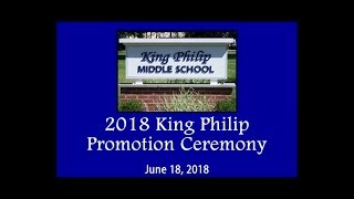 King Philip Middle School 8th Grade Promotion Ceremony