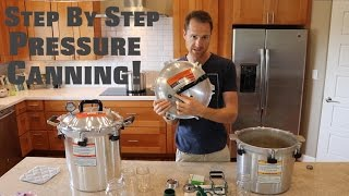 HOW TO PRESSURE CAN - Step by step with pinto beans!