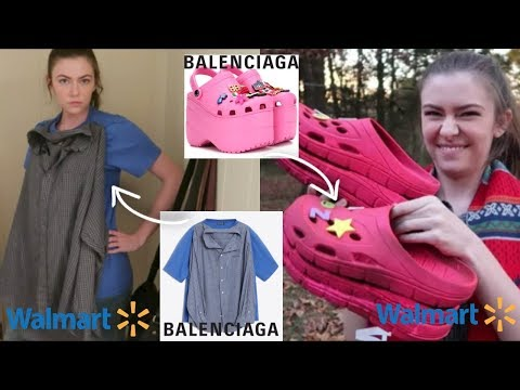 Kristina - Making A Balenciaga Outfit From Walmart