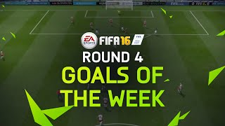 FIFA 16 - Best Goals of the Week - Round 4