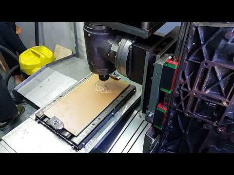 DIY cnc milling machine. Первая стружка.