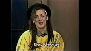 Boy George on Late Night, June 29, 1983