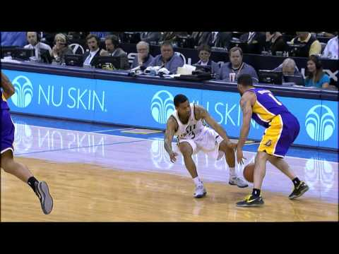 Jordan Farmar Breaks Trey Burke