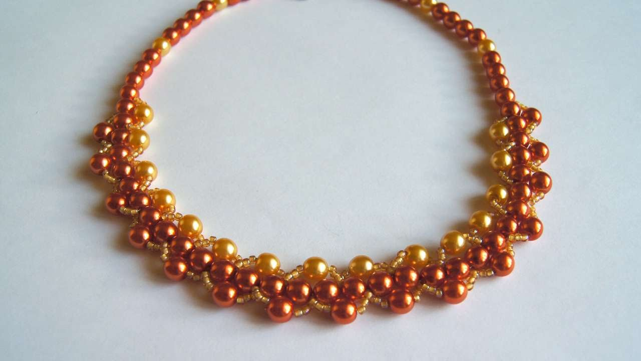 How To Make A Beautiful Solar Bead Necklace - DIY Style Tutorial ...