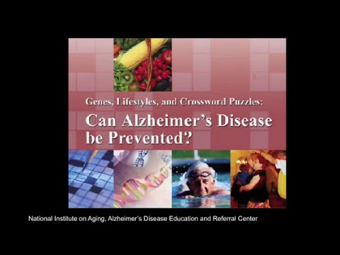 Reducing Your Risk of Alzheimer's Disease: Building a Better Brain as We Age